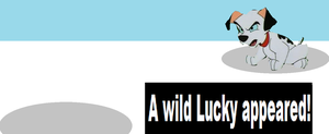 A wild Lucky appeared by arvinsharifzadeh