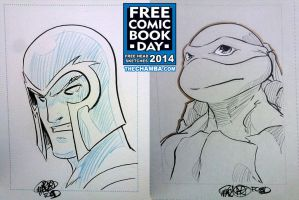 FCBD 2014 Sketches 05 - 06 by theCHAMBA