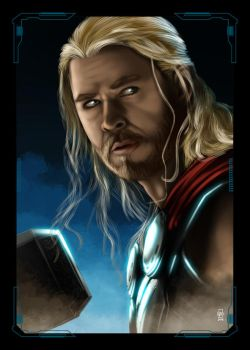 Avengers Thor by NZO68