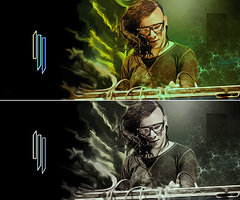 skrillex by deadlema1