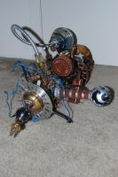 Steampunk Death Ray by T-Bore