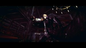 Wesker and Chris 1 by Captain-AlbertWesker