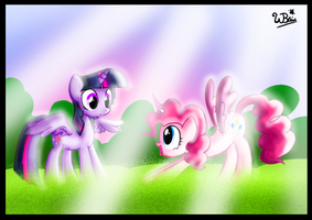 SKY PARTY!!! by NeonCabaret