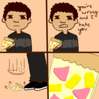 i hate hawaiian pizza by withbutts