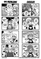 DC:P  4Koma Circus 4 by Lorddragonmaster
