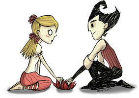 We Won't Starve Together PNG Version by SpinaOscura