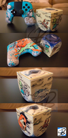 OUYA Console + Controller - The Environmentalist by ricepuppet