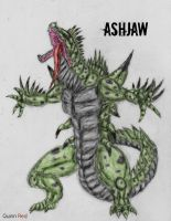 Art Request: Ash Jaw by Quinn-Red