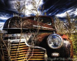 Ridge road Chevy - HDR by DHL-Photography