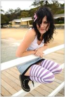 Kathy - railing 1 by wildplaces