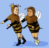 Bees! by omelton