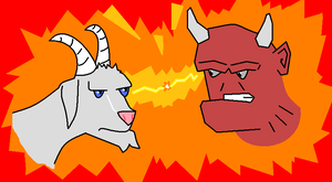 Billygoat Smackdown by Riptor25