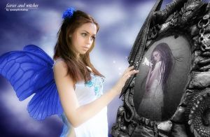'fairies and witches' by queenphotoshop