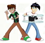 Ben 10 and Danny Phantom: Omniverse by MegaArtist923