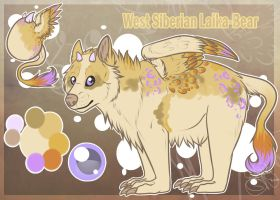The Laika-Bear have hatched! by SillyTheWolf