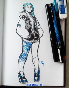 Kicks and Inks by theCHAMBA