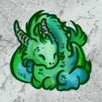 Baby Dragon - avatar by p-korle