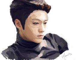 Myungsoo Speedpaint by mackbutler3