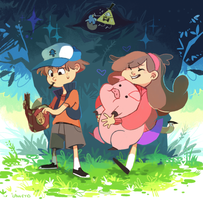 Gravity falls by LaWeyD