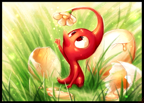 Red Pikmin - Magic Yolk by WalkingMelonsAAA