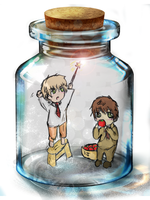 APH : Spain UK in the bottle by nakaisan