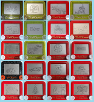 20 etch a sketch challenge by pikajane