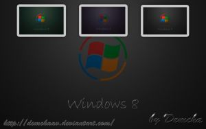The concept of Windows 8 by DemchaAV