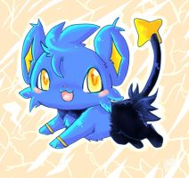 shinx by LeaderWolfGirl