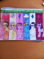 My Little Pony the group by 1894178
