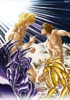 Radamanthys vs Regulus by RXGDO