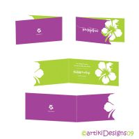 Invitation Card Design by artiki