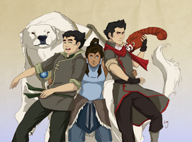 The Legend of Korra by treesquirrel2