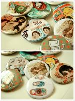 art buttons by nakushitakotoba