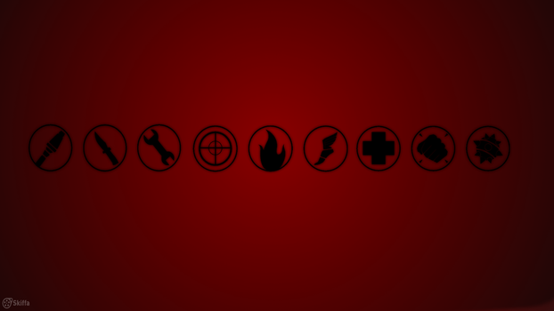 Red Team Fortress 2 - Wallpaper by TinySkiffa