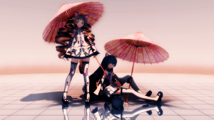 [MMD picture] Under the Sun by RenardDesOmbres