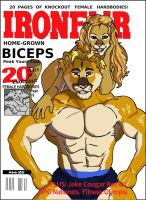 Muscle Magazine: IRONFUR March 2002 by RuntyTiger