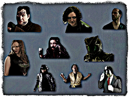 Channel Awesome Villains by pinkrangerwannabe