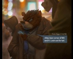 Bear Detective Rain test by DanielAraya