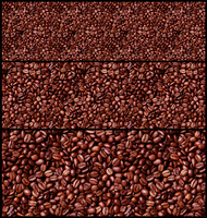 seamless coffee beans by spligity