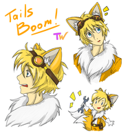 Human!Tails Boom #2 by TanyaWind