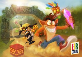 Crash Bandicoot - E3BR Collab by Gamerlherme