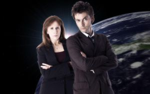 The Doctor and Donna by angelsangelicangel