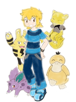 A Future Pokemon Ranger by Flamongirl13