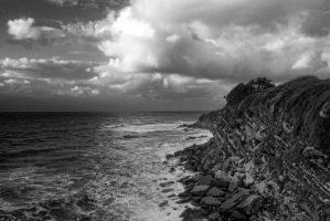 Cote Basque in France by Anupthra