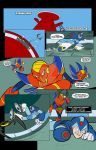 Archie Comics Mega Man X Color Flats page 1 by BrianLee88