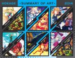 Summary of Art 2014 by Hokage3