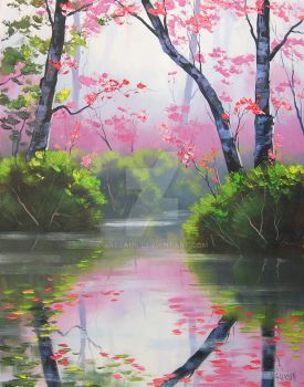 mystic river by artsaus