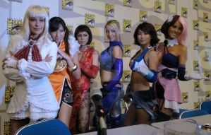 Ladies of Tekken by Gh0sT5