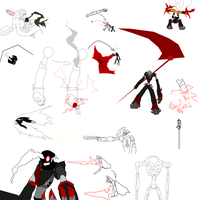 DeadCell redesign concept part 2-ablities by MethusulaComics