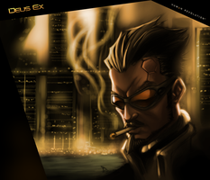 Colours: Deus Ex By Thekidkaos by Chuck-Nothing